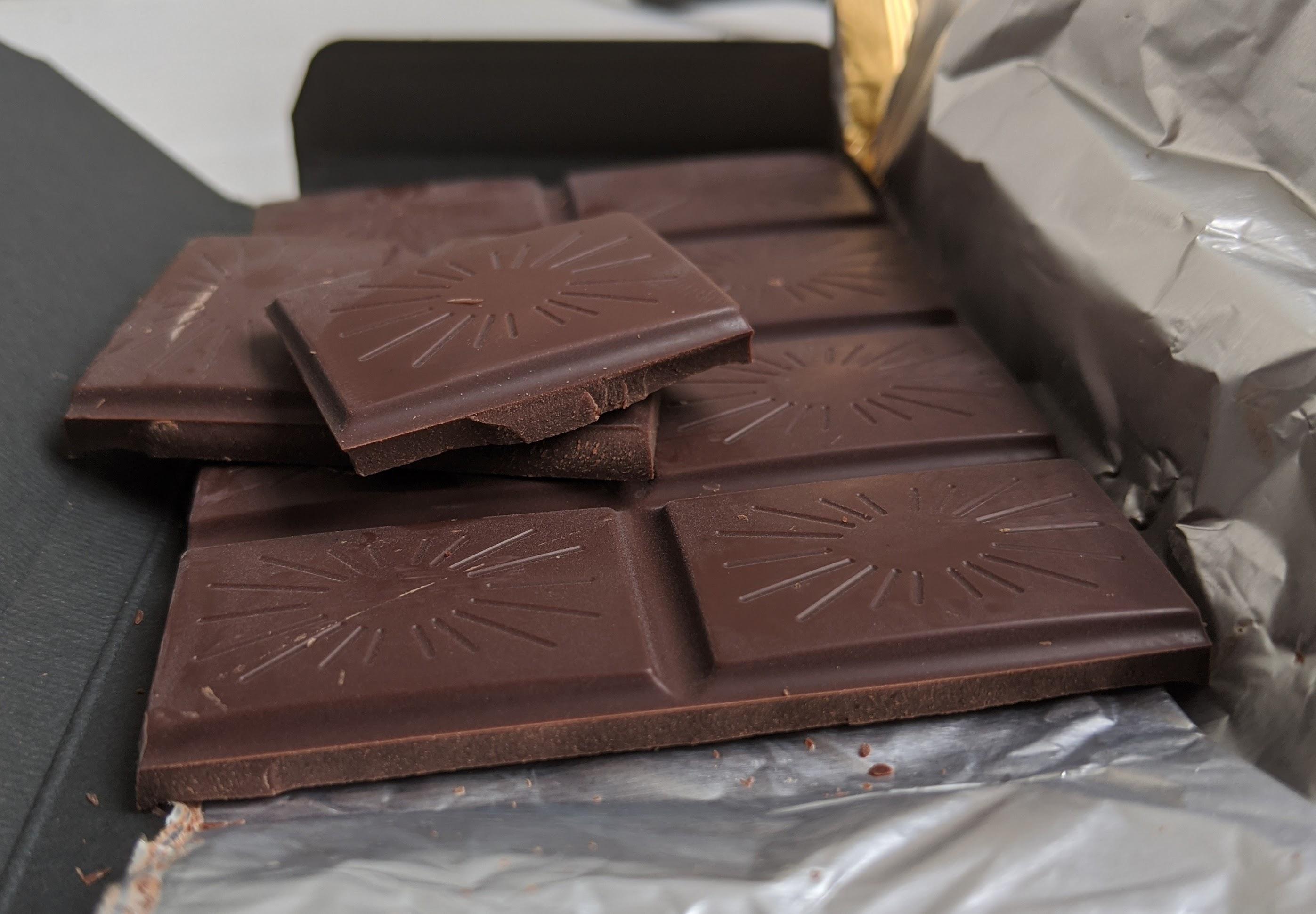 85% stella chocolate togo bar