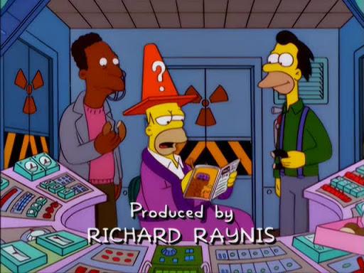 Los Simpsons 11x19 Mata al cocodrilo y huye