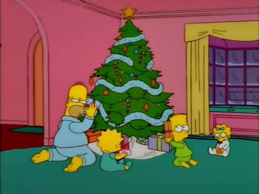 Los Simpsons 9x10 Milagro en la avenida Siempreviva