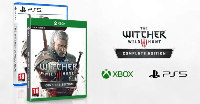 Witcher 3 : Wild hunt อัพเกรดฟรี บน PS5 และ XSX