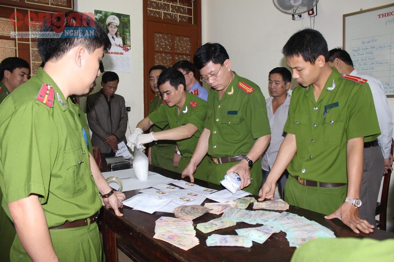 Công an huyện Hưng Nguyên phá thành công Chuyên án, triệt xóa đường dây mua bán                 trái phép chất ma túy liên tỉnh