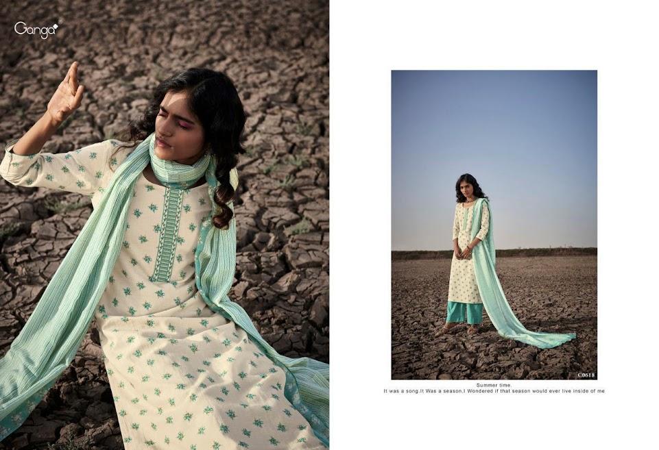 Ganga Bhumi Plazzo Style Suits Catalog Lowest Price