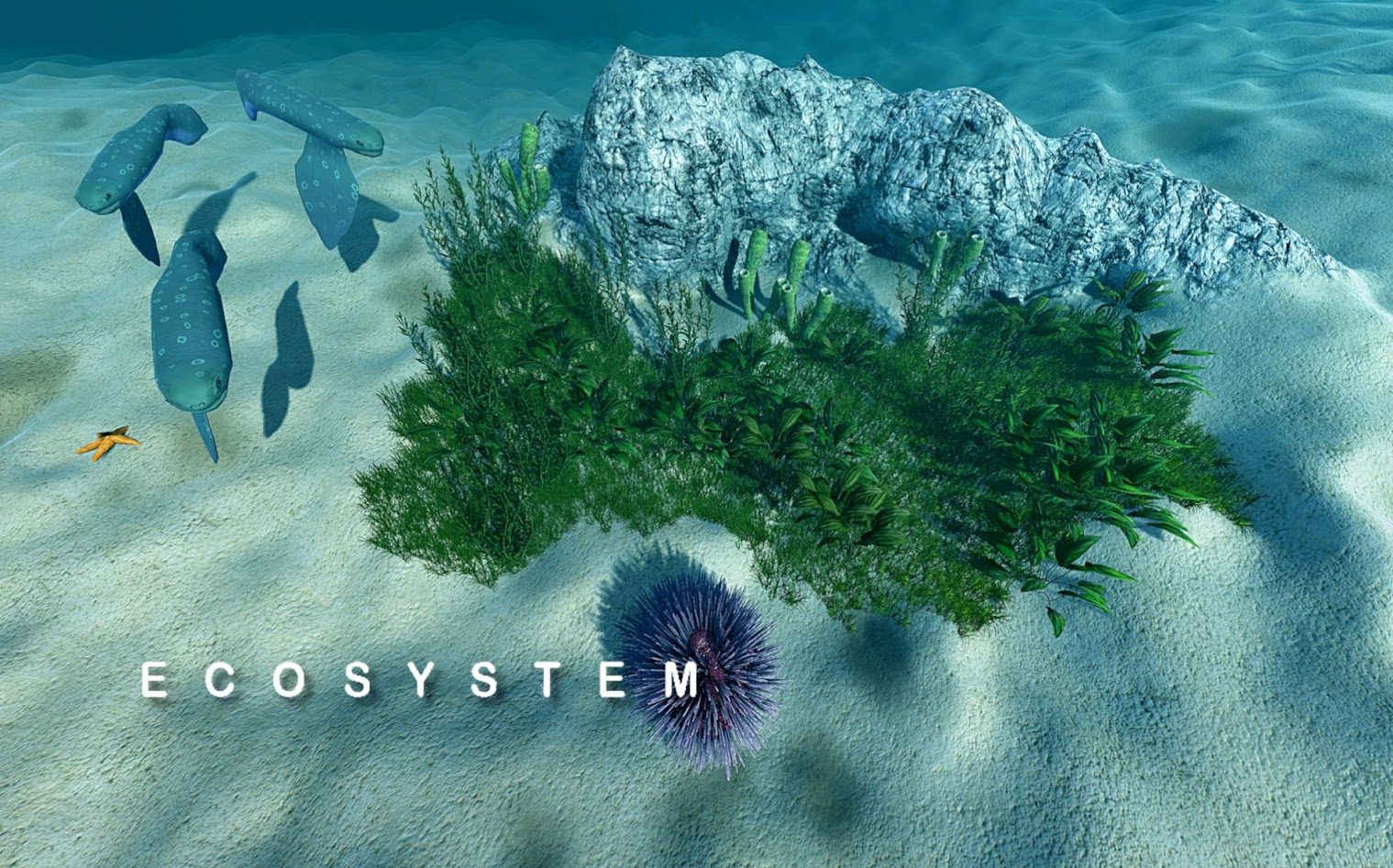 Ecosystem Is A Game Where You Can Create And Evolve You Own Sea Life
