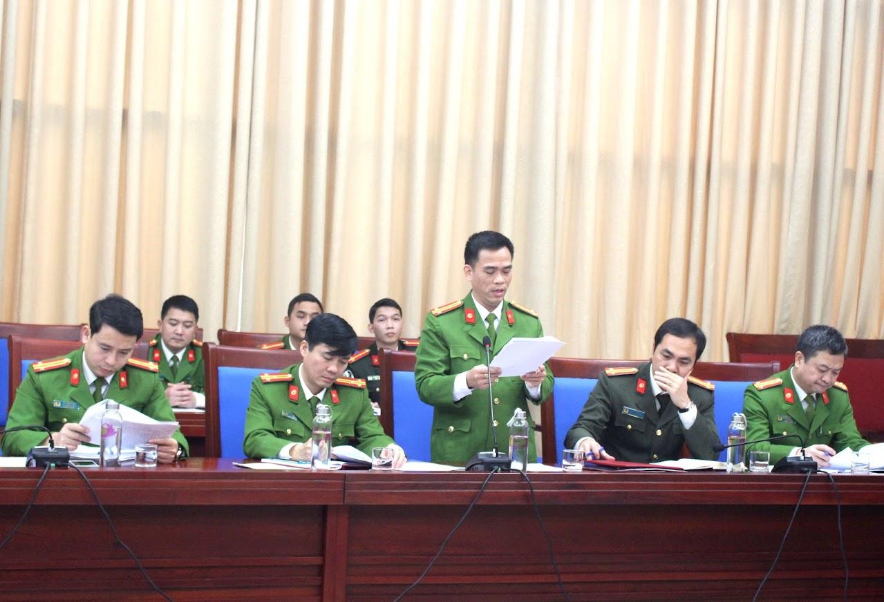 Công an tỉnh Nghệ An báo cáo kết quả hoạt động của Ban Chỉ đạo PCCC&CNCH năm 2020 và đề ra phương hướng, nhiệm vụ năm 2021