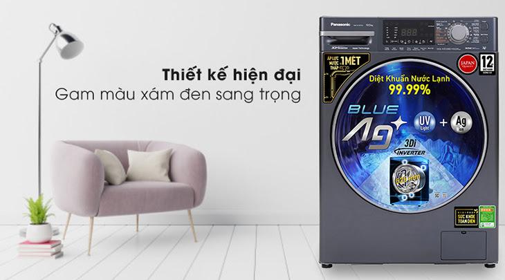 Máy giặt Panasonic lồng ngang FX2 có thiết kế hiện đại