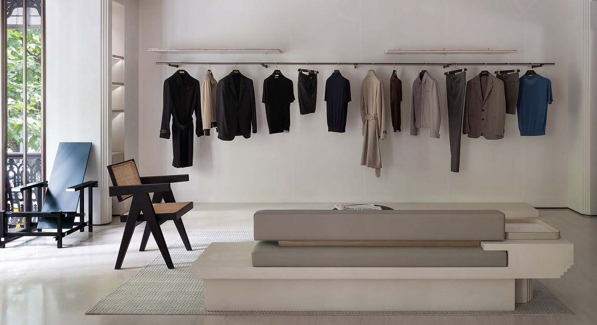 thiết kế nội thất cửa hàng quần áo