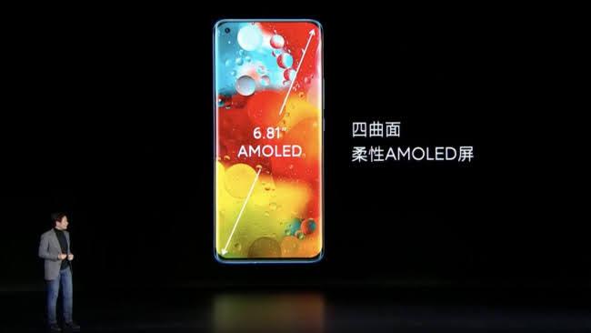 Xiaomi Mi 11 ecrã