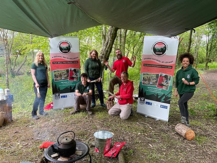 Wild skills project to help people with mental health issues