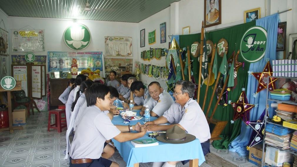 BHD thăm các đơn vị GĐPT trực thuộc