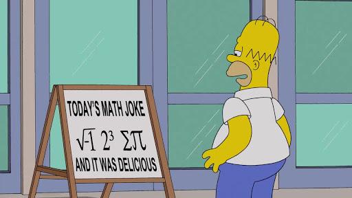 Los Simpsons 26x22 Hazaña Matemática