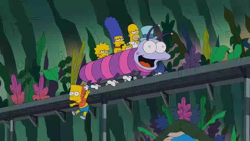 Los Simpsons 26x10 El Hombre que vino para ser la cena