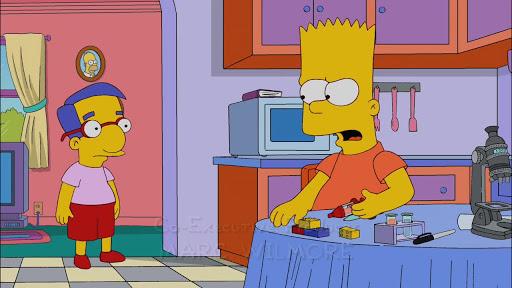 Los Simpsons 23x04 Reemplazable tú