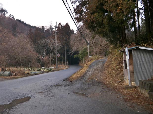 秋目川バス停