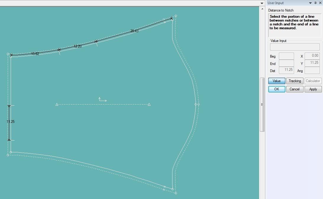 Gerber Pattern Design: Cách Sử Dụng Các Lệnh Đo Thông Số Measure 10