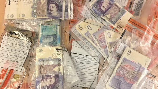 Cross-border money laundering arrest