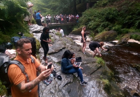 Think twice before visiting beauty spots