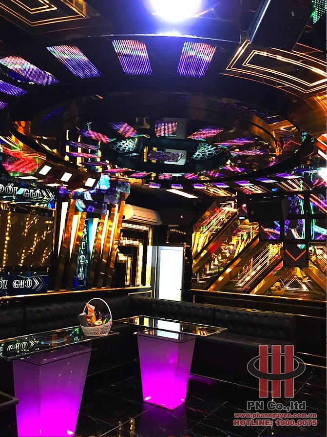 Công trình thi công hệ thống âm thanh karaoke chuyên nghiệp tại Karaoke Đổi Gió - Bình Phước