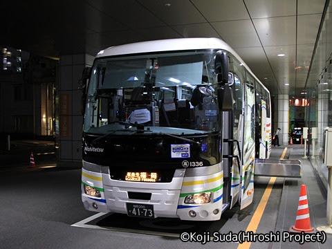 西鉄「桜島号」 1336 鹿児島中央駅前改札中