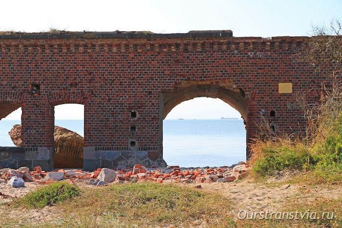 Форт Западный, Балтийск, достопримечательности Калининградской области