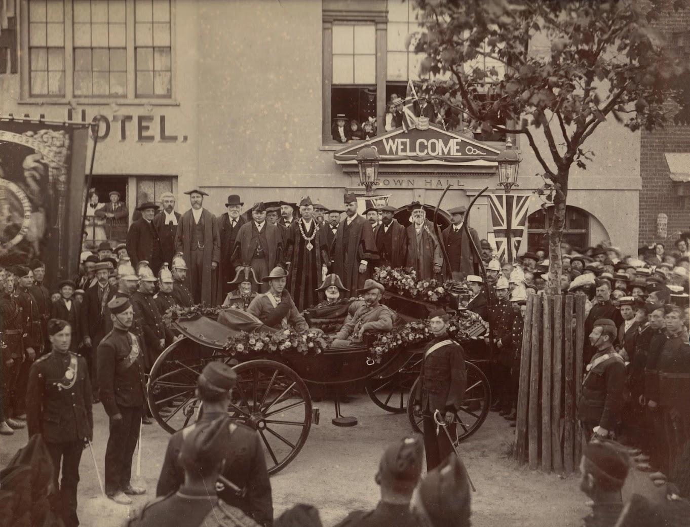 Returning from the Boer War 1901 Tenterden