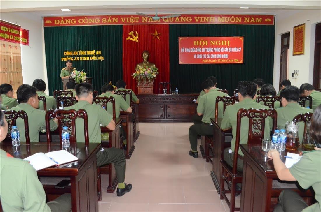 Công tác cải cách hành chính của đơn vị đã có nhiều chuyển biến đáng ghi nhận.