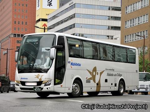 西鉄「はかた号」 0002 福岡新川橋付近にて