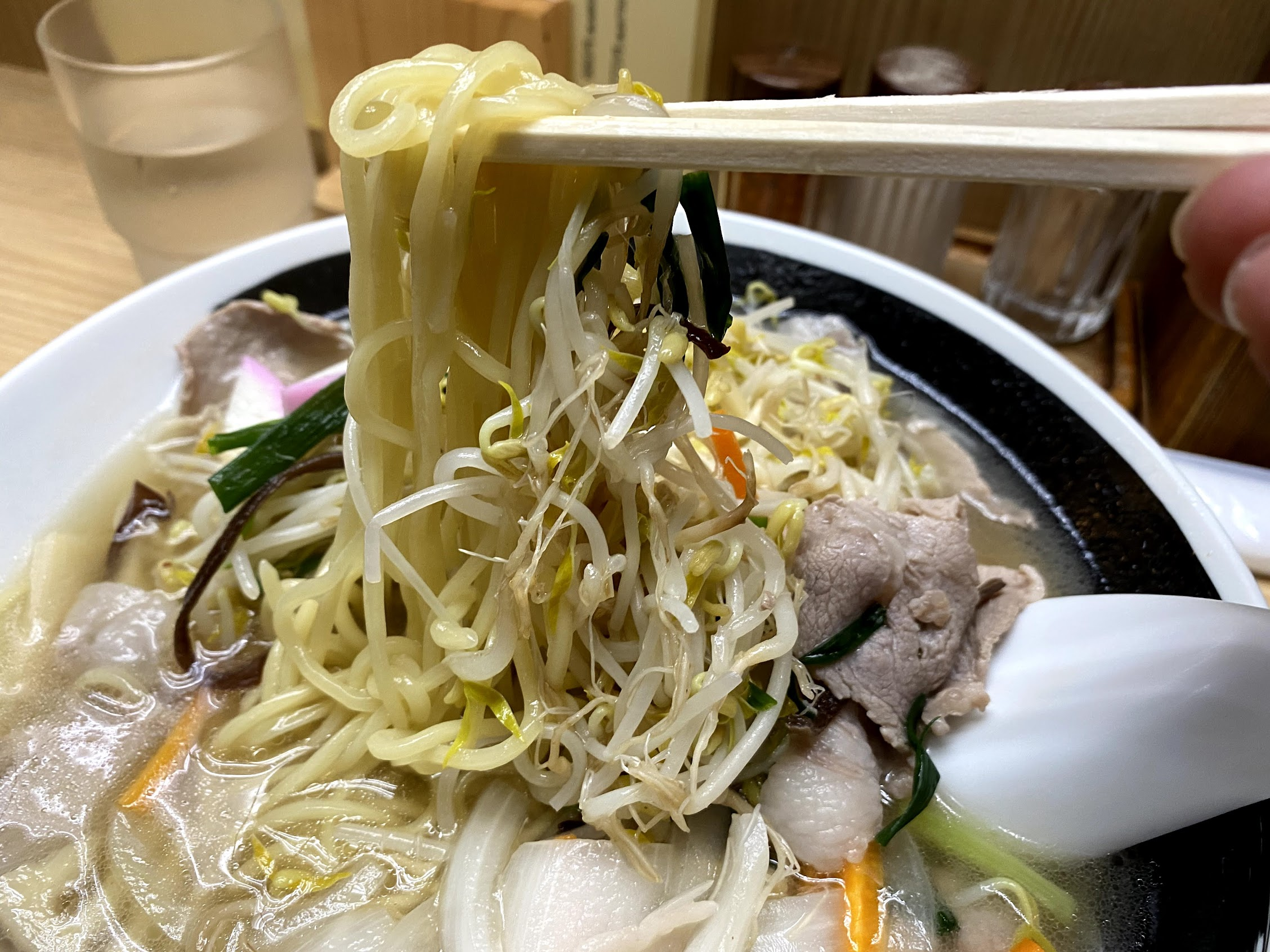 チャンポン中太麺