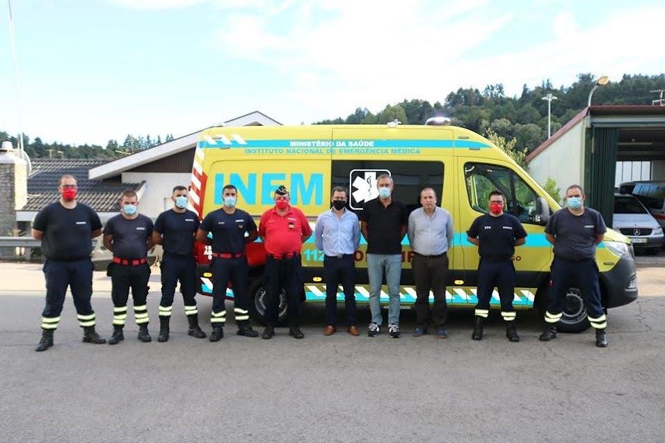 Bombeiros de Lamego com nova ambulância