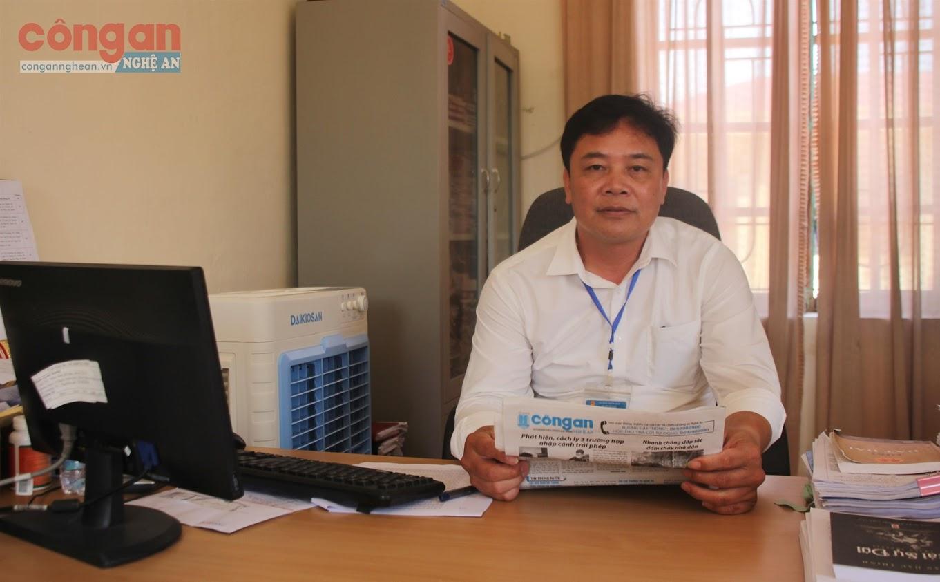 Đồng chí Cao Xuân Chương,  Chủ tịch UBND xã Xuân Hải