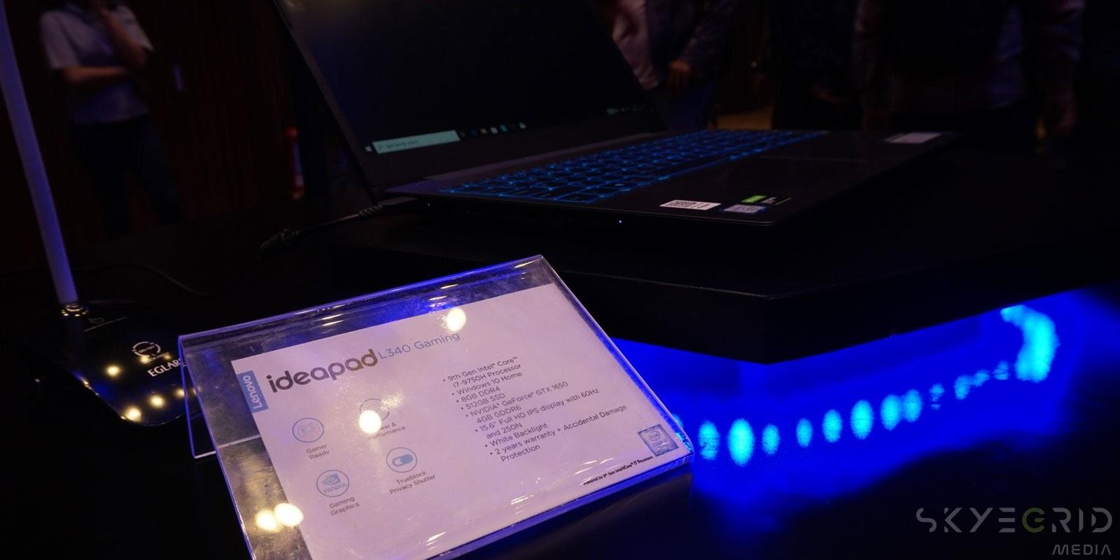 Spesifikasi IdeaPad L340 Gaming di Indonesia