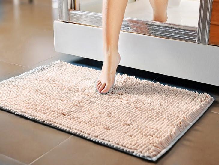 Các loại thảm lau chân