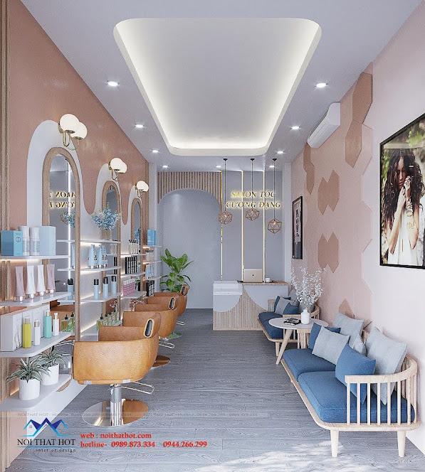 thiết kế salon tóc