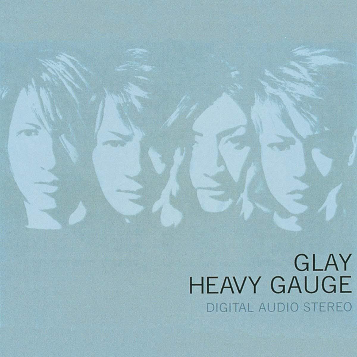 """Capa do álbum """"HEAVY GAUGE""""."""