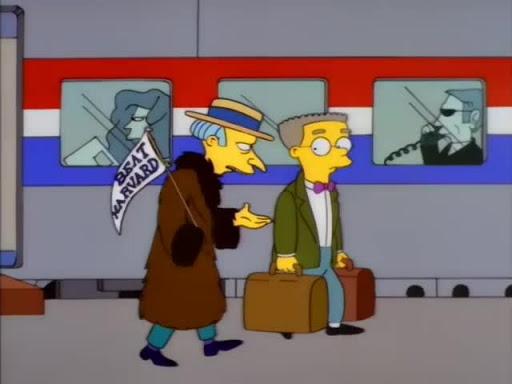 Los Simpsons 8x04 Papi Burns