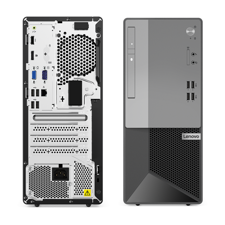 Lenovo_V50t_13IMB_Front and Rear View