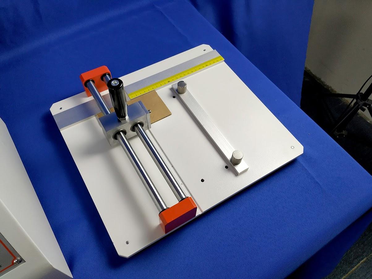 Side Pressure Sampler for Corrugated Board Edge Compressive Strength Test