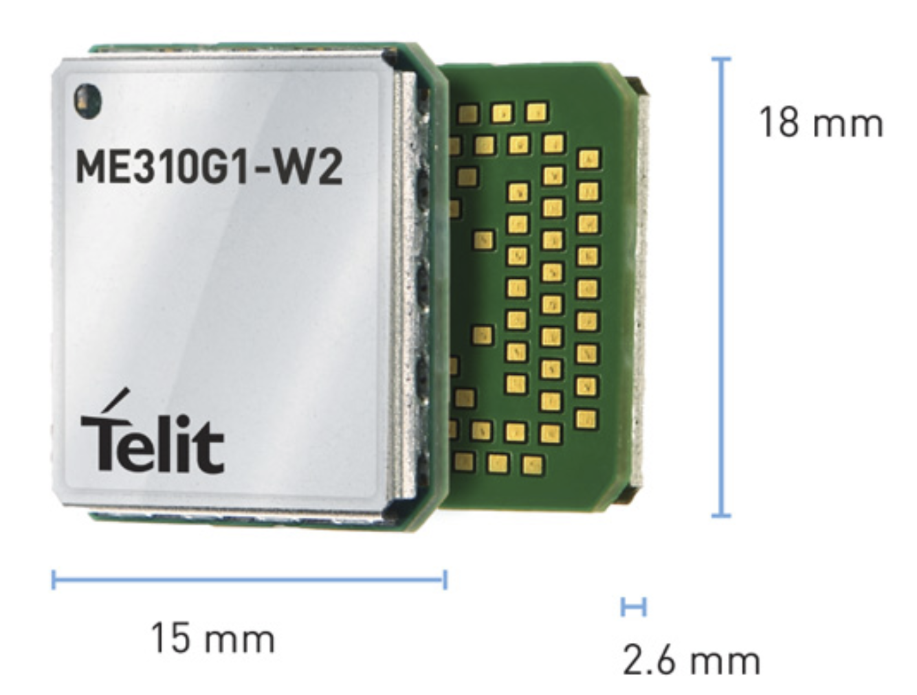 Telit LTE-M and NB-IoT module targets 450MHz band