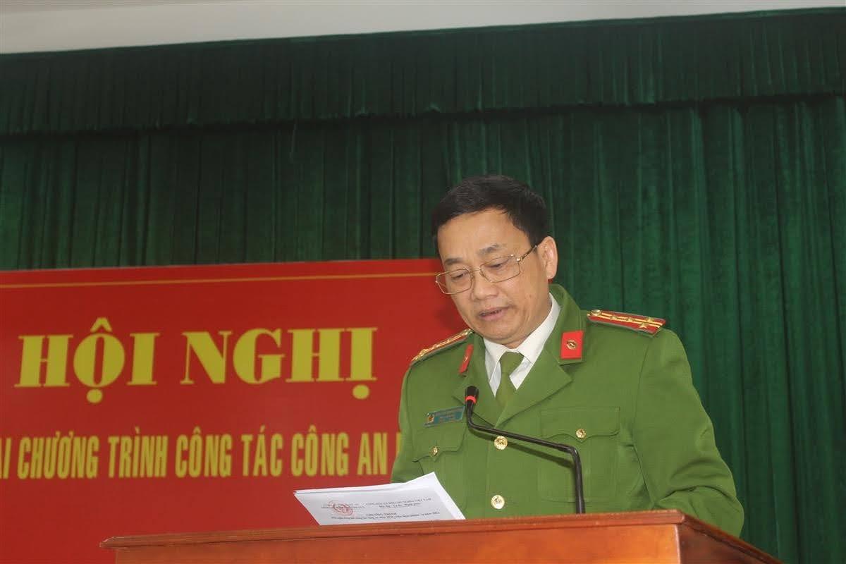 Đại tá Nguyễn Mạnh Hùng, Phó Giám đốc Công an tỉnh