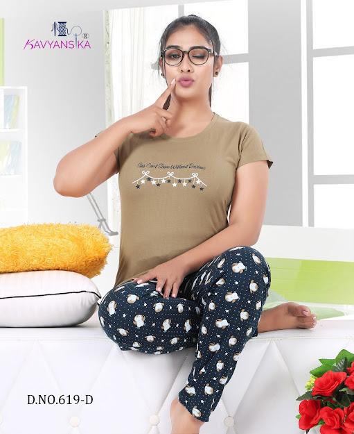 Kavyansika Vol 619 Women Night Suits Catalog Lowest Price