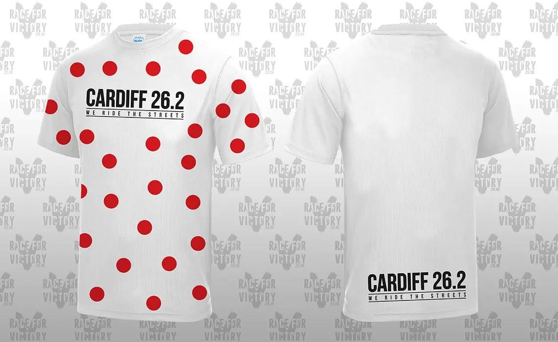 Cardiff Cyclothon - Polka Dot Jersey