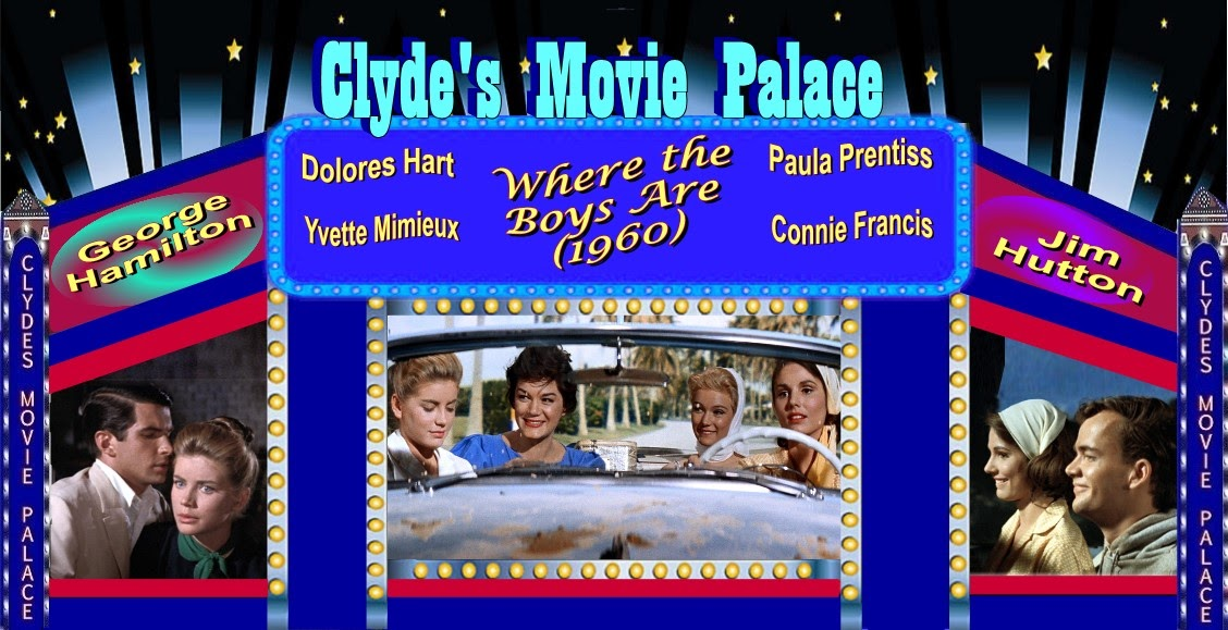 FROM THE REFURBISHED SECTION OF CLYDE'S MOVIE PALACE: WHERE THE BOYS ARE (1960)