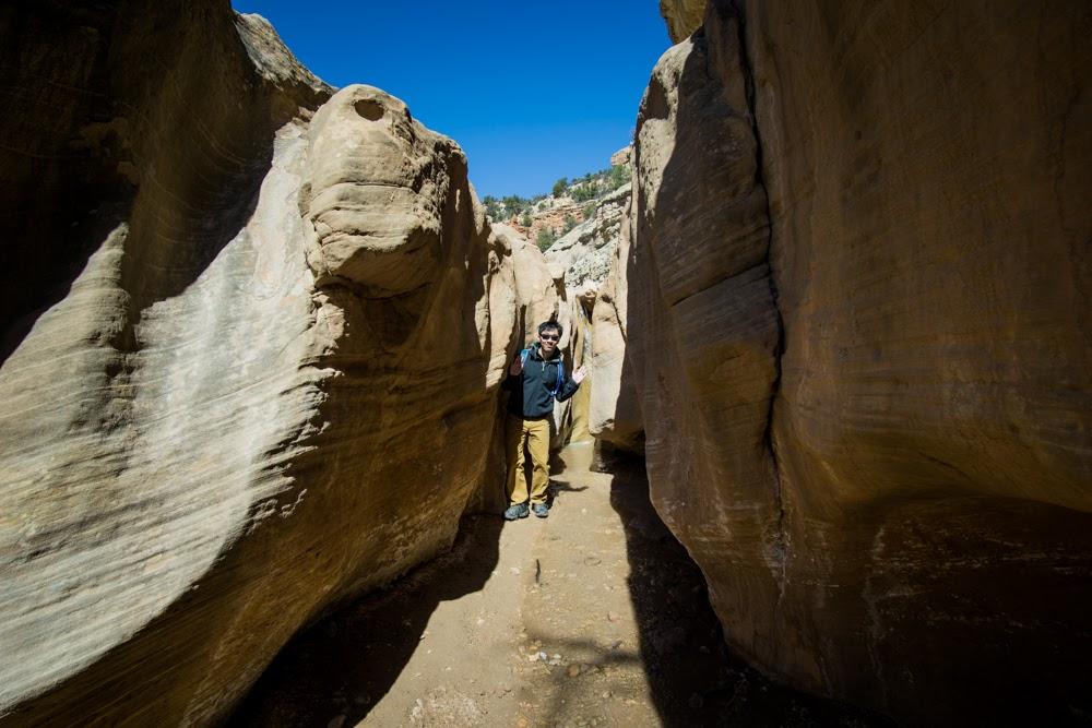 HB inside canyon