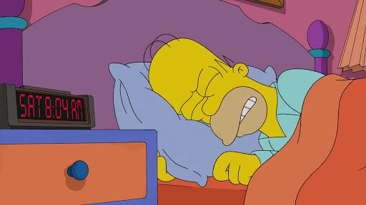 Los Simpsons 26x14 Mi esposa, la taxista