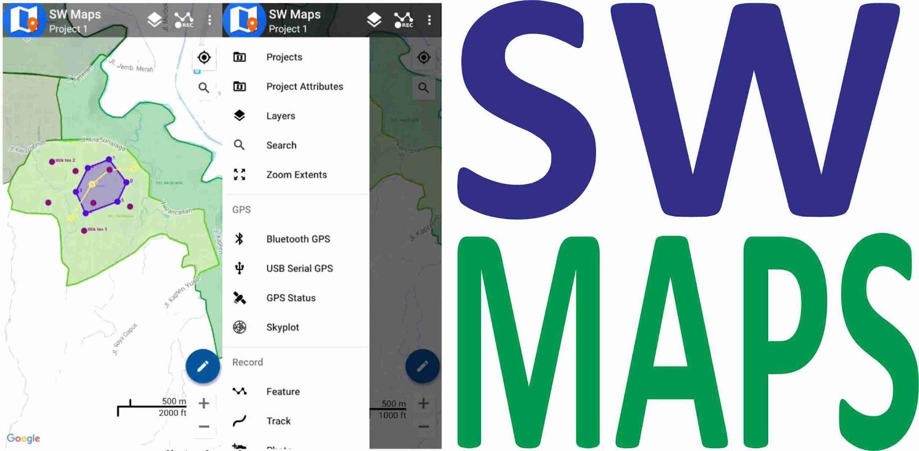 Mengelola Shp di Android, Kenapa Tidak? (SW Maps Video)
