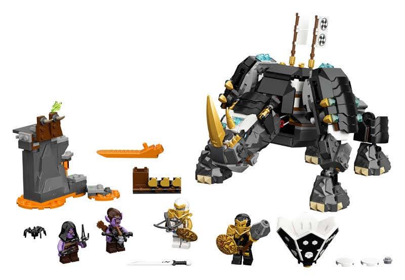 Contenido de Lego® 71719 Criatura Mino de Zane