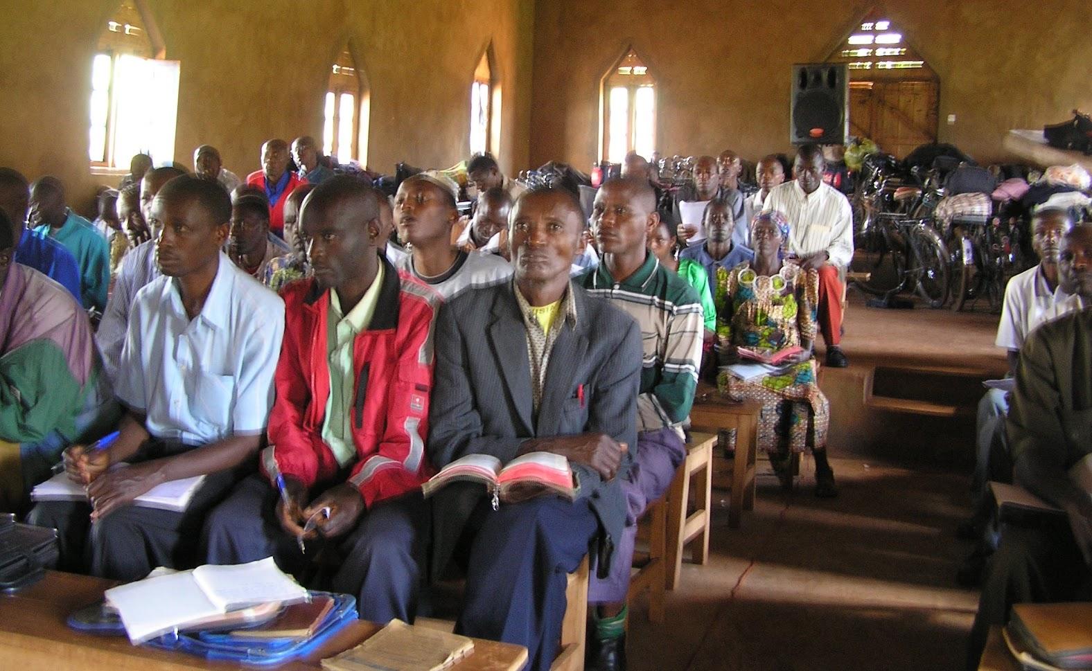 Pastors in a tutorial