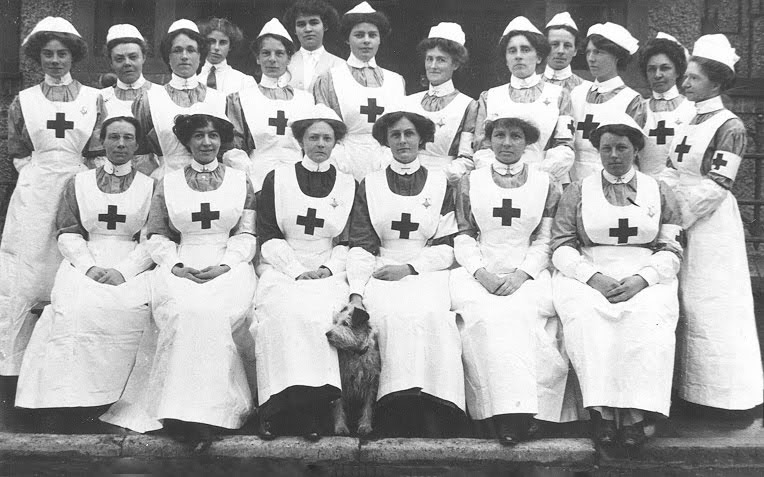 VAD nurses Tenterden 1913