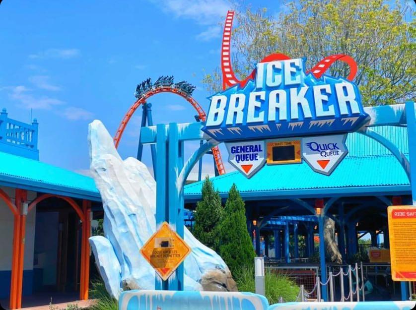 Ice Breaker/SeaWorld Orlando - Photo by Tayton Laing