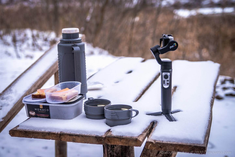 Зима у лісі. Сніданок