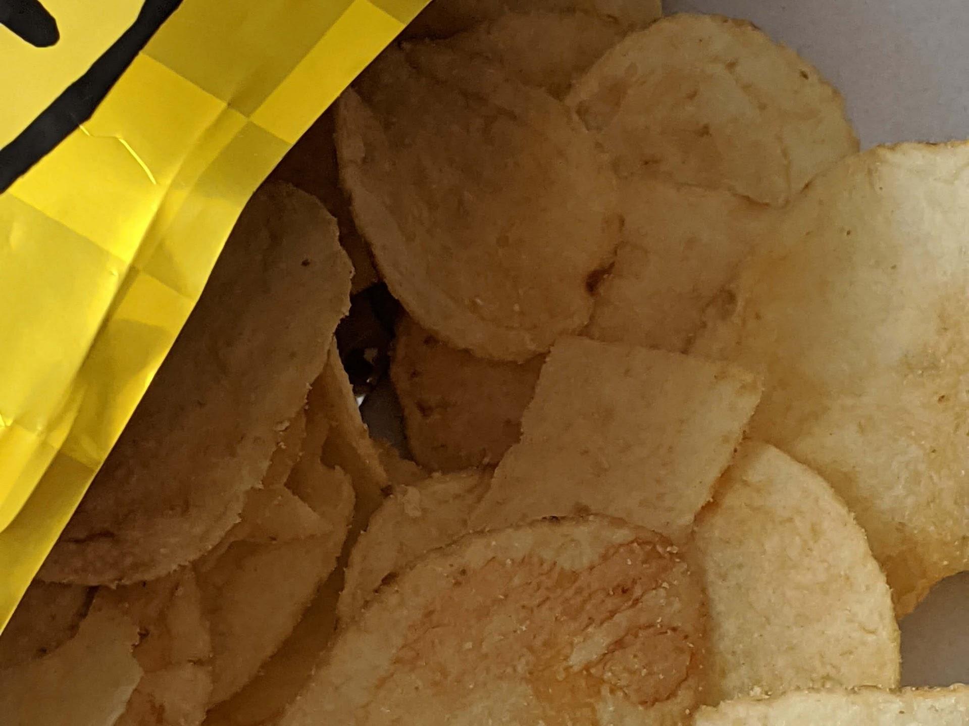 カルディ いぶりがっこマヨ。ポテトチップス
